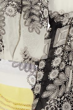 PREEN  Astrid printed silk-chiffon dress