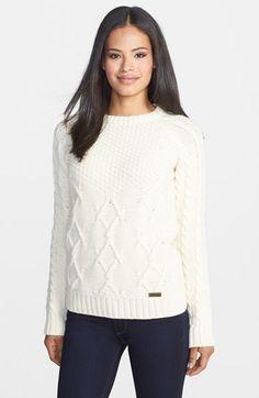 Barbour 'Ursula' Mix Stitch Sweater   Nordstrom