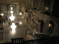 Underground Salt Mine Ballroom