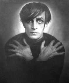 rcmerchant:    Conrad Veidt as Ceasre-the CABIENET OF DR.CALIGARI (1919)