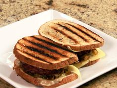 Patty Melt Recipe : Patrick and Gina Neely : Food Network - FoodNetwork.com