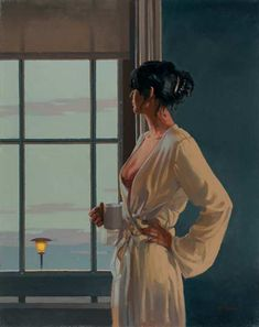 Baby, bye bye - Jack Vettriano. This piece looks great in our kitchen.
