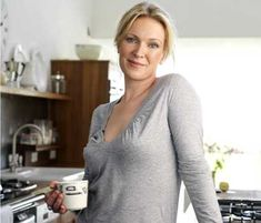 Rachel Allen and her kitchen