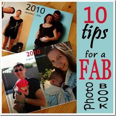 10 Tips for a Fab Photo Book