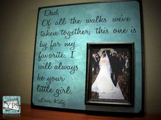 Daddy's little girl! I have to do this for my daddy
