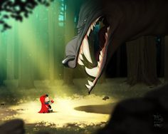 Little Red COLORS by `pacman23 on deviantART ★ Find more at http://www.pinterest.com/competing/