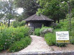 Daniel Boone Botanical Garden in Boone, North Carolina.