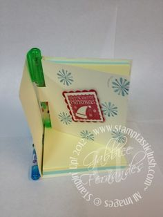 Stampin Up! Post It Note with Pen