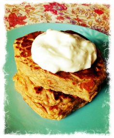 Whole Wheat Oatmeal Pancakes by Lindsay L