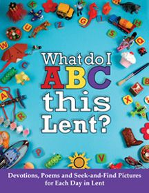 What do I ABC this Lent?  a seek and Find devotion book