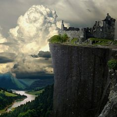 Kilchurn Castle, Scotland - This takes my breath away. Imagine what it would be like in PERSON!