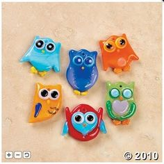 handmade beads, glass owl, glasses, glass fuse, charms, owl charm, glass bead, owls, fuse glass