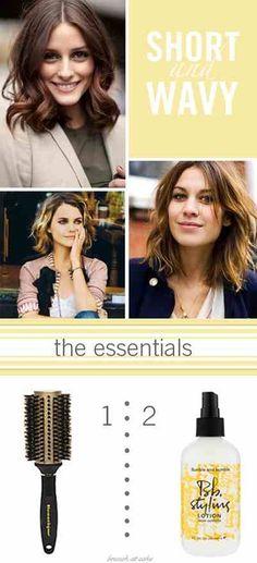 For medium length hair