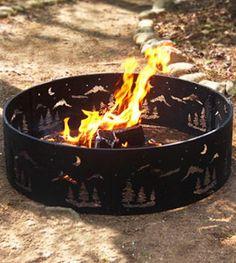 Wilderness Steel Fire Ring