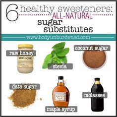 6 healthy all-natura...