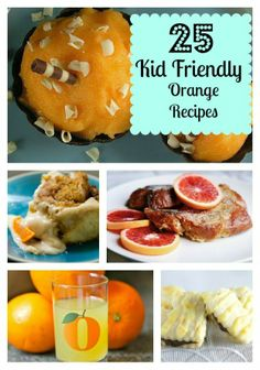 Kid friendly orange recipes to try after reading One Day and One Amazing Morning on Orange Street