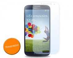 Samsung Galaxy S4 Screen Protector - Transparent http://www.dsstyles.com/news/2013/samsung-galaxy-s4-cases-screen-protectors-pre-order-available.html
