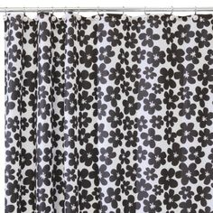 InterDesign Flora Shower Curtain $14.99
