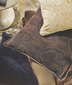 Fabrics top to bottom:  Eva Velvet in Sand  Ashland in Indigo  Luxury Epingle in Ash  Lady Elsie in Persian Blue