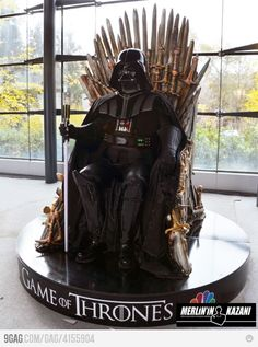 LOL  Lord Vader Stark - The rebels are coming #Vader #StarWars #Stark #GameOfThrones