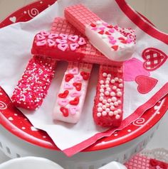 Quick and Healthy Desserts Recipes  - Valentine Wafer Cookies - Click Pic for 34 Delicious Dessert Recipes
