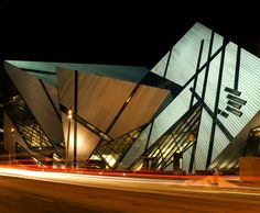 The Royal Ontario Museum (ROM) in Toronto, Canada.
