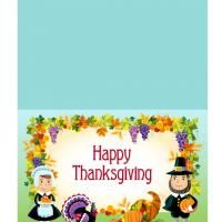 Give a like for adorable #Thanksgiving greeting cards.