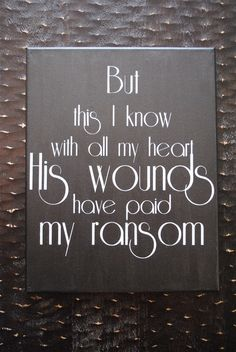 Ponder Anew ~ an Etsy shop, hand-painted hymn lyrics (http://www.pinterest.com/kassifay/ponder-anew/)