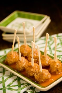 Sweet and Mild Meatball Appetizers