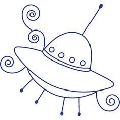 cute space ship-#38
