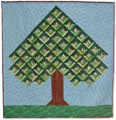 Family Gathering Tree Quilt 7/7/04