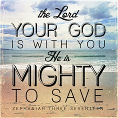 HE is with me.