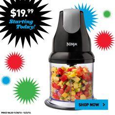 Don't miss this Ninja blender for just $19.99! #BlackFriday
