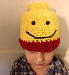 Free Crochet Pattern For Lego Hat : Crochet on Pinterest Crochet Baby Girls, Amigurumi and ...