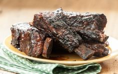 Spice-Rubbed Beef Short Ribs // Who doesn't love mouth-watering short ribs?
