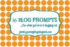 16 Blog Prompts!