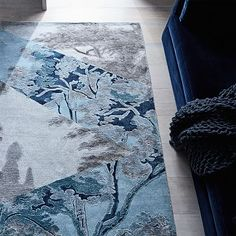 Faceted Trees Rug #w