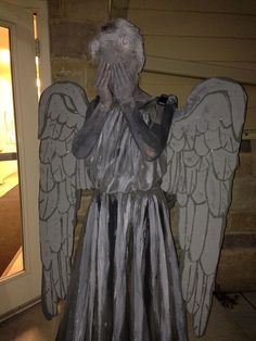 Weeping Angel Costume from Doctor Who... Coolest Halloween Costume Contest