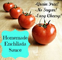 SCD Enchilada Sauce (*Use SCD legal chili powder, fresh pressed garlic & SCD tomato paste...)