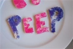 Homemade Peeps!!
