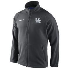 Mens Kentucky Wildcats Nike Anthracite Sphere Hybrid Jacket
