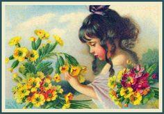 Vintage Spring card