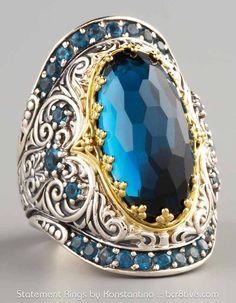 Konstantino-London-Blue-Topaz-Ring