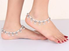 The Tingling Anklets | Traditional Silver Anklets | South Indian Traditional Anklets
