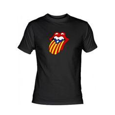 Samarreta Rolling Stones amb estelada.