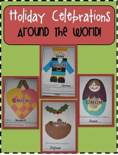 Take a trip around the world this holiday season as we discover some of the traditions and legends in 14 different countries!This keepsake book i...