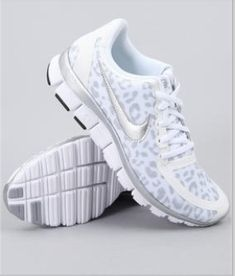 These cheetah print Nike shoes