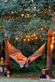 magical outdoor space