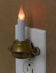 Candle Night Light.