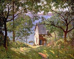 by the Maine artist, N.C. Wyeth.